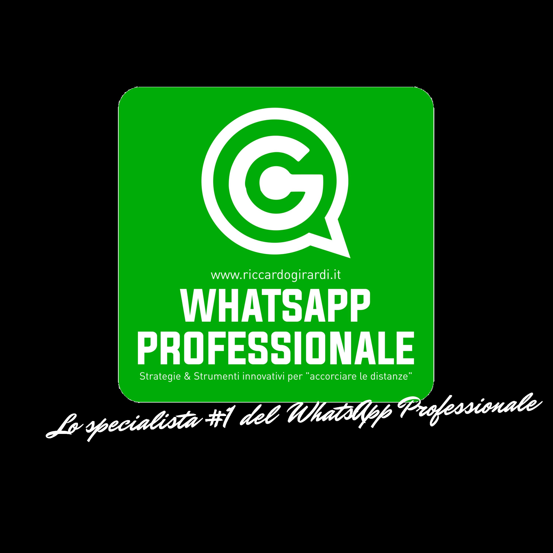 Lo specialista numero uno del whatsapp marketing professionale logo