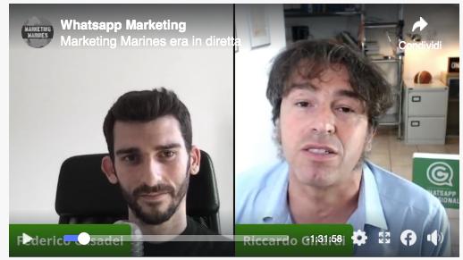 Il webinair integrale con Marketing Marines