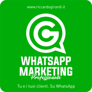 WhatsApp Maketing Professionale Logo 500 x 500