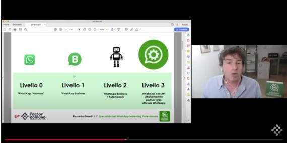 Live Fattor Comune WhatsApp Marketing Professionale