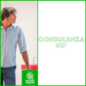 Consulenza 60' whatsapp marketing professionale