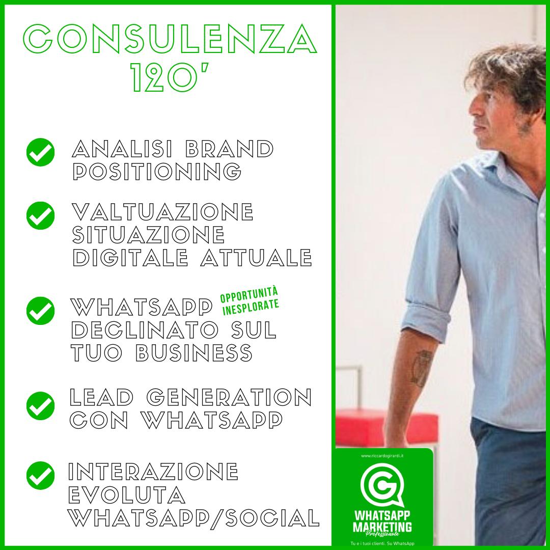2 Consulenza 120 esteso whatsapp marketing professionale