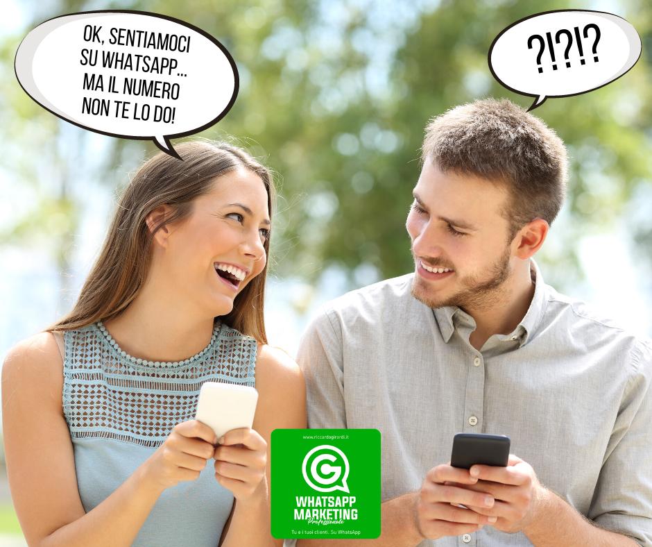 WhatsApp, scrivere a qualcuno… senza conoscerne il numero