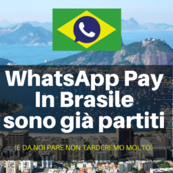 WhatsApp Pay Brasile Marketing